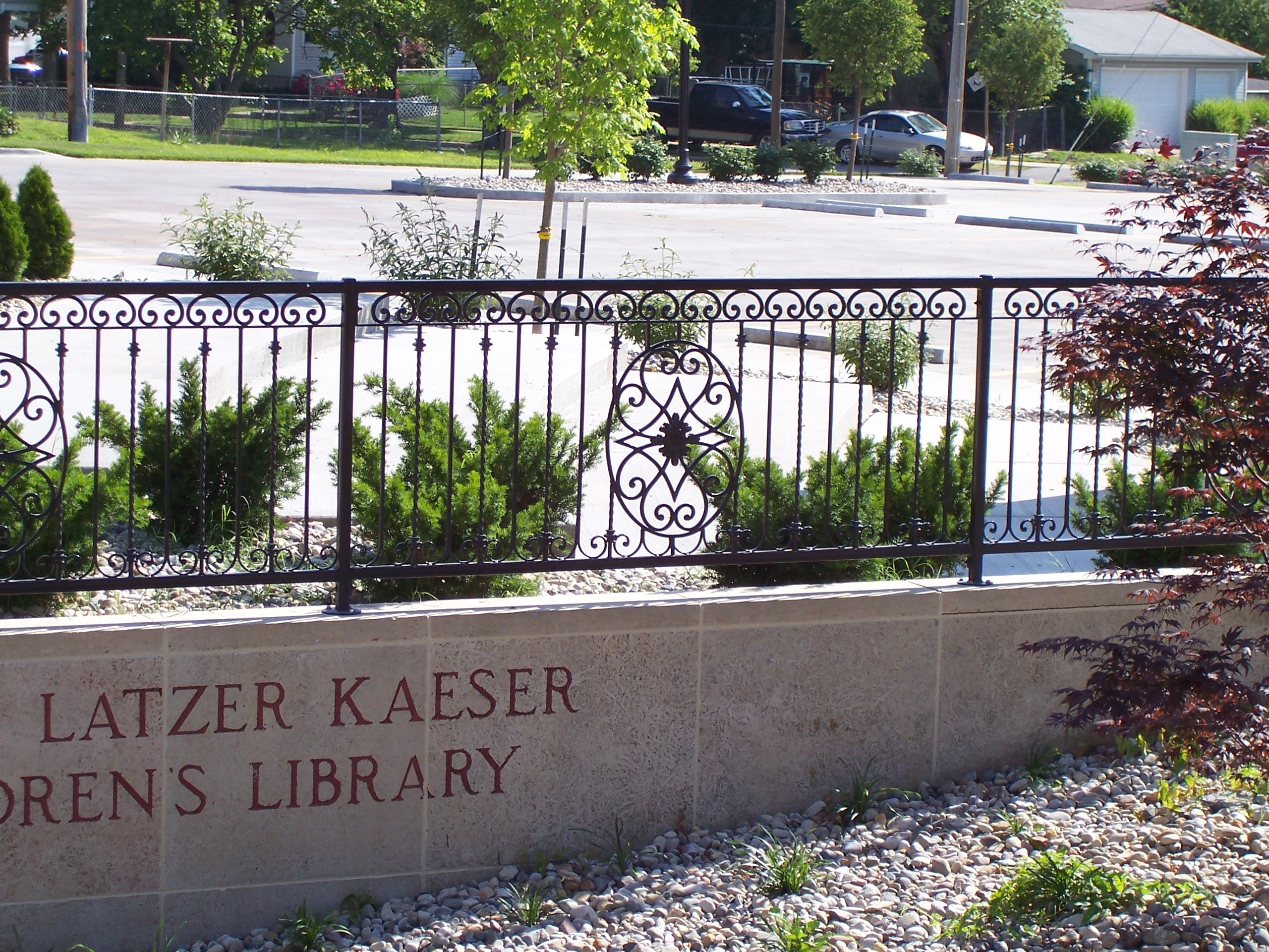 Latzer Library railings